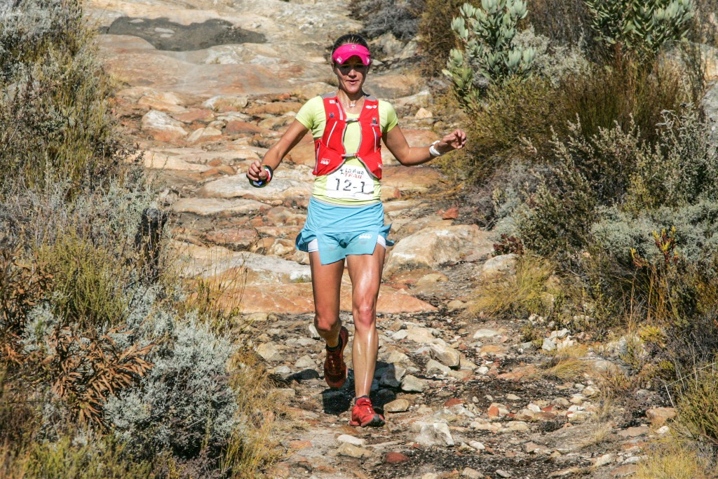 South African trail running superstar Landie Greyling is returning to take on the second Tankwa Trail. Photo by Oakpics.com.