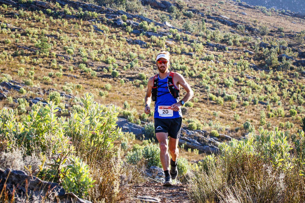 AJ Calitz is one of South African trail running's most recognisable faces. Photo by Oakpics.com.